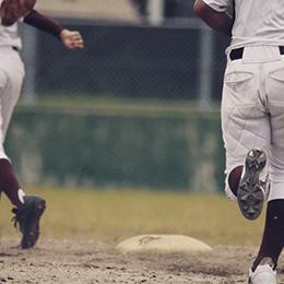 野球に明け暮れた学生時代イメージ